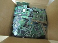 3.83 LBS.1741 GR HARD DRIVE BOARDS FOR GOLD RECOVERED & SCRAP