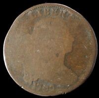 1797 LARGE CENT 1C DRAPED BUST  EARLY TYPE COIN $ SHIPS FREE
