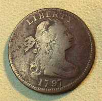 1797 LARGE CENT S136 R3- SHARP  SHIPS FREE MAKE AN OFFER