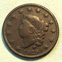 1829 LARGE CENT SHARP PRETTY COIN NICE