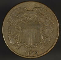 1869 TWO CENT FINE Z