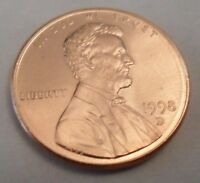 1998 D LINCOLN MEMORIAL CENT / PENNY