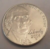 2014 D JEFFERSON NICKEL