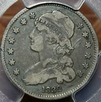 WOW  PCGS 1832 CAPPED BUST QUARTER PCGS VF 20 CHEAPEST ON EBAY