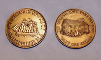 THE HISTORIC TOWNE OF SMITHVILLE NJ 1787 TALL SHIP COIN