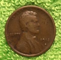 1913 S 1C LINCOLN WHEAT  SHIPS FREE
