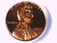 1957 P LINCOLN WHEAT CENT PCGS PR 66 RD CAM 08927176