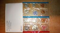 1970 US MINT P D S UNCIRCULATED SET JFK SILVER HALF AND 'S' LINCOLN CENT