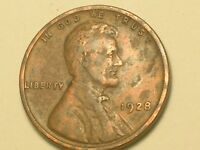 1928 P   LINCOLN WHEAT PENNY CENT   NICE COIN