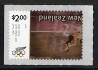 NEW ZEALAND 2730A  2004  $2 OLYMPIC STAMP   INVERTED CENTER W/CERT {/}