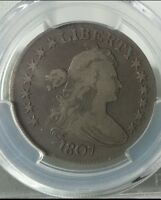 1807 PCGS VG10 DRAPED BUST HALF DOLLAR  FOR GRADE PRICED TO SELL O-102 R-2