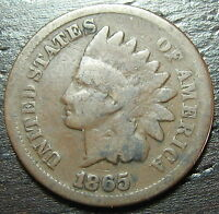1865 INDIAN HEAD CENT PENNY  -  MAKE US AN OFFER  O6912