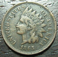 1865 INDIAN HEAD CENT PENNY  -  MAKE US AN OFFER  O6915