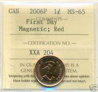 2006P CANADA ONE CENT  MAGNETIC
