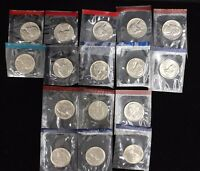 1980 1981 1984 1989 PD US JEFFERSON NICKELS BU MINT CELLO RUN DECADE SET