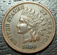 1880 INDIAN HEAD CENT PENNY     MAKE US AN OFFER  O6630