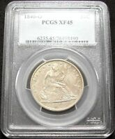 1840 O PCGS XF45 SEATED LIBERTY HALF    / NEARLY WHITE / CLEAN