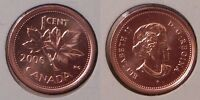 2006P CANADA MAGNETIC PENNY GRADED AS BRILLIANT UNCIRCULATED