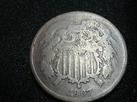 1867 2 CENT COIN --- TUFF DATE