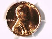 1957 D LINCOLN WHEAT CENT PCGS MS 65 RD 28472904