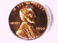 1960 P LINCOLN MEMORIAL CENT PCGS PR 66 RD SMALL DATE 60201752