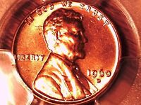 1960 D LINCOLN MEMORIAL CENT PCGS MS 64 RD SMALL DATE 29924844