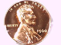 1960 P LINCOLN MEMORIAL CENT PCGS PR 66 RD SMALL DATE 32696337