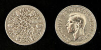 LUCKY SIXPENCE KING GEORGE CLEANED & POLISHED 1920   1946