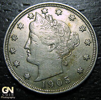 1905 LIBERTY V NICKEL  -  MAKE US AN OFFER  O6136