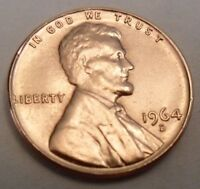 1964 D LINCOLN MEMORIAL CENT / PENNY