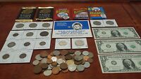 14KGOLD 90SILVER 1800'S COINS JOSEPH BARR DOLLARS AND MORE