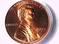 1993 P LINCOLN MEMORIAL CENT PCGS MS 67 RD 73100340