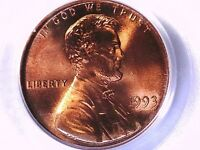 1993 P LINCOLN MEMORIAL CENT PCGS MS 67 RD 21269708