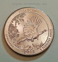 2015 D KISATCHIE NATIONAL PARK QUARTER