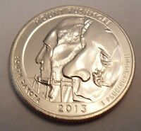 2013 P MOUNT RUSHMORE NATIONAL PARK QUARTER
