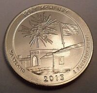 2013 D FORT MCHENRY QUARTER