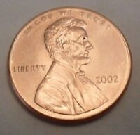 2002 P LINCOLN MEMORIAL CENT / PENNY