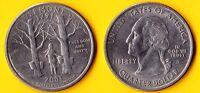 25 CENTS 2001 D VERMONT USA US STATE QUARTER 1791 FREEDOM AND UNITY