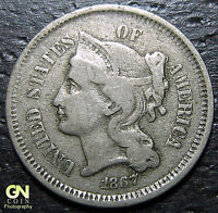 1869 3 CENT NICKEL PIECE     MAKE US AN OFFER  O7625