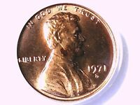 1971 S LINCOLN MEMORIAL CENT PCGS MS 64 RD 21459551