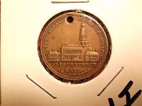 1776 1876 MEDAL IN REMEMBRANCE OF THE CENTENNIAL INDEPENDENCE HALL  1 I