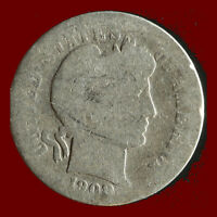 1908 P BARBER 90 SILVER DIME SHIPS FREE. BUY 5 FOR $2 OFF