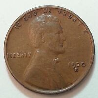 1930 S LINCOLN WHEAT CENT / PENNY  SHIPS FREE