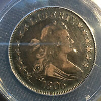 1806 HALF DOLLAR, DISPUTED GRADE: ANACS VF DETAILS, SOUL OF AN EXTRA FINE