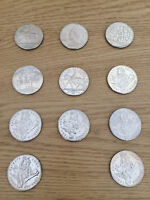 5 COIN SET TOTAL OF 11 COINS  55 - MIX YEARS - CIRCULATED - ONLY 45.00