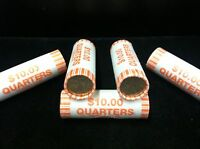 2003 D US MINT UNCIRCULATED  ILLINOIS STATE QUARTER UNOPENED BANK WRAPPED ROLL