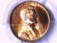 1953 D LINCOLN WHEAT CENT PCGS MINT STATE 64 RD 80621502