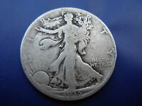 NICE BETTER DATE 1935 S WALKING LIBERTY HALF IN VG CONDITION.