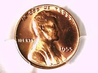 1955 P LINCOLN WHEAT CENT PCGS MS 65 RD 33191339