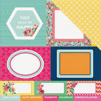 FIESTA DOUBLE SIDED CARDSTOCK 12